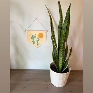 Other - 🧡 Hand Painted Wall Hanging // Pennant Banner